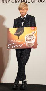 『日本マクドナルド「マックフルーリー オレンジショコラ」試食会イベント』に出席したりゅうちぇる (C)ORICON NewS inc.