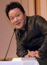 第156回「芥川賞」を受賞し、会見で心境を語る山下澄人氏 (C)ORICON NewS inc.