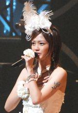 第1子女児出産を発表した元美勇伝の三好絵梨香(写真は活動最後の舞台となった2008年6月の単独コンサート時)(C)ORICON NewS inc.