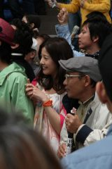 JRA『CLUB KEIBA/大合唱』篇、メイキングカット