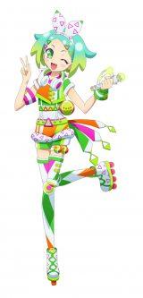 新キャラクター・虹色にの。4月よりテレビ東京ほかで新番組『アイドルタイムプリパラ』放送開始(C)T-ARTS / syn Sophia / テレビ東京 / IPP製作委員会