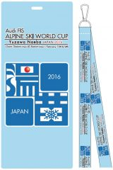『アウディFISアルペンスキーワールドカップ2016湯沢苗場』グッズ