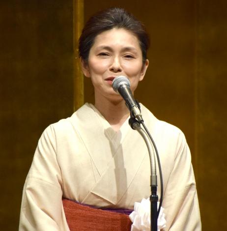 『第51回紀伊國屋演劇賞』贈呈式に出席した高田聖子 (C)ORICON NewS inc.