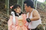 1月25日放送、TBS系ドラマ『レンタルの恋』第2話でマリー・アントワネット風のコスプレを披露する剛力彩芽 (C)TBS