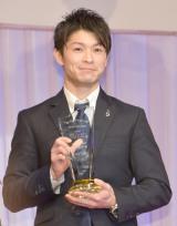『第28回 日本ジュエリー ベストドレッサー賞』表彰式に出席した内村航平 (C)ORICON NewS inc.
