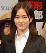 ドラマ『銭形警部』完成披露試写会&舞台あいさつに登壇した前田敦子 (C)ORICON NewS inc.