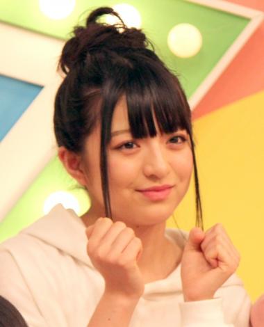 『AKB チーム8のブンブン!エイト大放送』収録後の会見に出席したAKB48のチーム8の佐藤七海 (C)ORICON NewS inc.