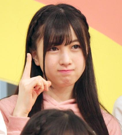 『AKB チーム8のブンブン!エイト大放送』収録後の会見に出席したAKB48のチーム8の永野芹佳 (C)ORICON NewS inc.