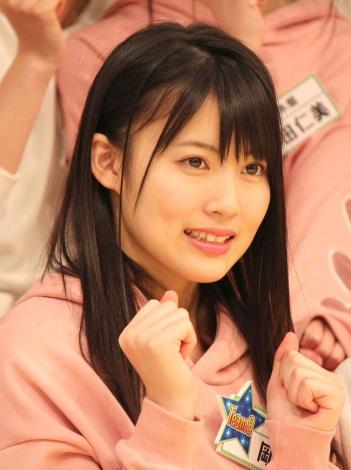『AKB チーム8のブンブン!エイト大放送』収録後の会見に出席したAKB48のチーム8の岡部麟 (C)ORICON NewS inc.