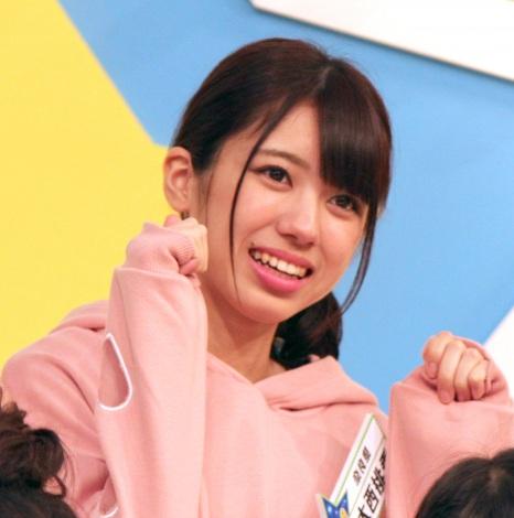 『AKB チーム8のブンブン!エイト大放送』収録後の会見に出席したAKB48のチーム8の大西桃香 (C)ORICON NewS inc.