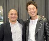 ロマンポルノ『牝猫たち』トークイベントに出席した(左から)白石和彌監督、音尾琢真 (C)ORICON NewS inc.