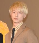 映画『新宿スワンII』の大ヒット御礼イベントに坂口健太郎 (C)ORICON NewS inc.