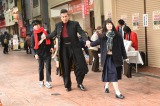 TBS系ドラマ『レンタルの恋』第3話では剛力彩芽がセーラー服姿を披露 (C)TBS
