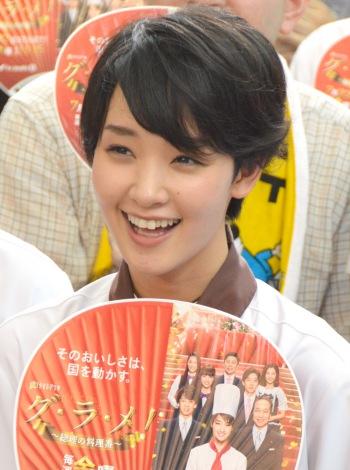 ドラマ『グ・ラ・メ!』presents 夏祭りスペシャルイベントに出席した剛力彩芽 (C)ORICON NewS inc.