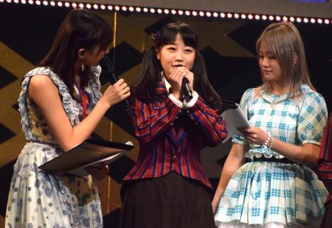 『AKB48グループ リクエストアワー セットリストベスト100 2017』の2日目昼公演に出演した佐藤美波 (C)ORICON NewS inc.