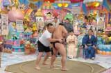2月12日放送の『日曜もアメトーーク!』収録の直前に稀勢の里の横綱昇進が決まり、相撲大好き芸人たちも大喜び(C)テレビ朝日