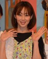 東海テレビ・フジテレビ系特番『愛されママGP』の収録に参加した井上和香 (C)ORICON NewS inc.