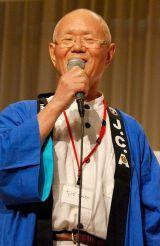 『第41回日本漫画家協会賞』の贈賞式に出席したちばてつや氏 (C)ORICON DD inc.