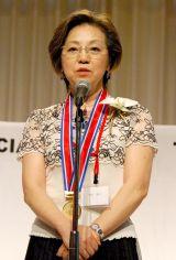 『第41回日本漫画家協会賞』の贈賞式に出席した竹宮惠子氏 (C)ORICON DD inc.