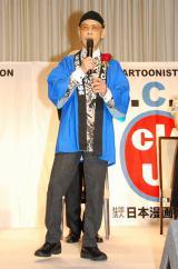 『第41回日本漫画家協会賞』の贈賞式に出席したやなせたかし氏 (C)ORICON DD inc.