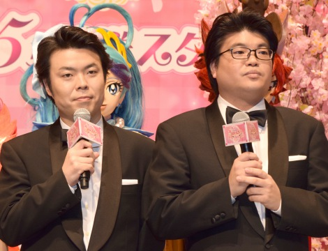 映画『プリキュアドリームスターズ!』記者会見に出席したライス (C)ORICON NewS inc.