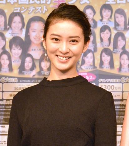 『第15回全日本国民的国民的美少女コンテスト』概要説明記者会見に出席した武井咲 (C)ORICON NewS inc.