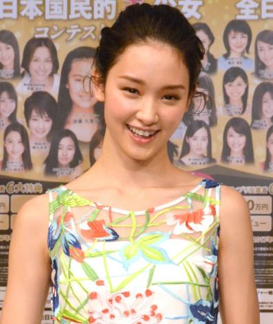 『第15回全日本国民的国民的美少女コンテスト』概要説明記者会見に出席した剛力彩芽 (C)ORICON NewS inc.