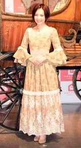 女性専用シェアハウス『かぼちゃの馬車』の新CM発表会に出席したベッキー (C)ORICON NewS inc.