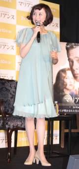 映画『マリアンヌ』公開直前イベントに出席した山口もえ (C)ORICON NewS inc.