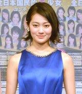 『第15回全日本国民的国民的美少女コンテスト』概要説明記者会見に出席した吉本実憂 (C)ORICON NewS inc.