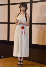 『第41回エランドール賞』授賞式に出席した波瑠 (C)ORICON NewS inc.