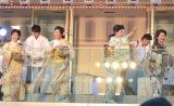 豆まきイベントに出席した(左から)壮一帆、紫吹淳、水野真紀、賀来千香子 (C)ORICON NewS inc.