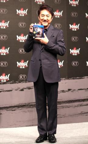 PlayStation4用ソフト『仁王』完成発表会に出席した市村正親 (C)ORICON NewS inc.