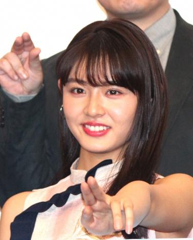 映画『咲-Saki-』舞台あいさつに出席した古畑星夏 (C)ORICON NewS inc.