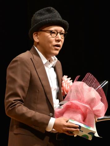 『第38回ヨコハマ映画祭』表彰式に出席した真利子哲也監督 (C)ORICON NewS inc.