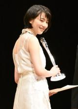 『第38回ヨコハマ映画祭』表彰式に出席したのん (C)ORICON NewS inc.
