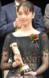 『2016年 第90回キネマ旬報ベスト・テン』新人女優賞の小松菜奈 (C)ORICON NewS inc.