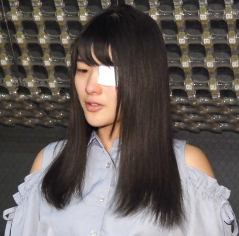 涙ながらに感謝=左目の内斜視手術が成功したことを報告した仮面女子・神谷えりな (C)ORICON NewS inc.