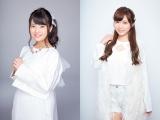 3月末でのLinQ卒業を発表した(左から)志良ふう子、舞川あや
