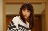関西テレビ・フジテレビ系ドラマ『嘘の戦争』第5話(2月7日放送)より。長年にわたる父との確執を打ち明ける楓(山本美月)(C)関西テレビ