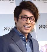 ソフトバンク『Pepperの新たな取り組みに関する記者発表会』に出席した田村淳 (C)ORICON NewS inc.