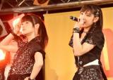 シングル「Good Boy Bad Girl/ピーナッツバタージェリーラブ」の発売記念イベントを行った(左から)嗣永桃子 、小関舞 (C)ORICON NewS inc.
