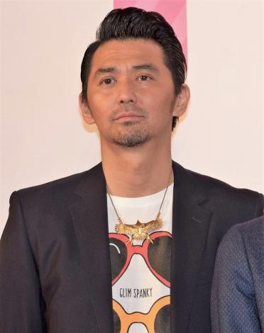 映画『PとJK』の完成披露舞台あいさつに出席した村上淳 (C)ORICON NewS inc.