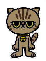 主役の猫。エキゾチックショートヘアのドラ(CV:南條愛乃)(C)「ぶっぷな毎日」製作委員会