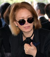 石坂敬一さんのお別れの会に参列した石川セリ (C)ORICON NewS inc.
