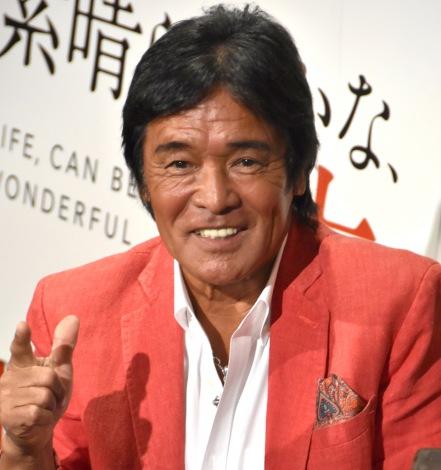 映画『素晴らしきかな、人生』バレンタインデー直前イベントに出席した松崎しげる (C)ORICON NewS inc.