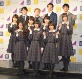 『Perfect Suit Factory 2017年春夏新製品 記者発表会』に出席した乃木坂46 (C)ORICON NewS inc.