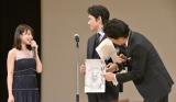 『第59回ブルーリボン賞』授賞式に出席した(左から)有村架純、松山ケンイチ、大泉洋 (C)ORICON NewS inc.