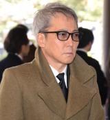 石坂敬一さんのお別れの会に参列した佐野元春 (C)ORICON NewS inc.