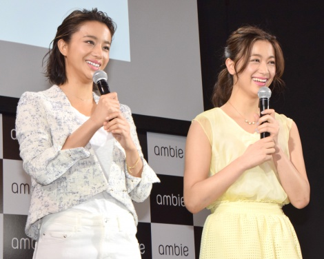 (左から)高橋メアリージュン、高橋ユウ (C)ORICON NewS inc.